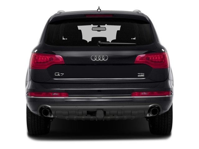 2015 Audi Q7 Prices and Values Utility 4D 3.0 TDI Premium Plus AWD rear view