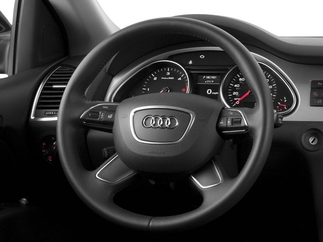 2015 Audi Q7 Prices and Values Utility 4D 3.0 TDI Premium Plus AWD driver's dashboard