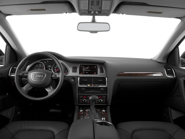2015 Audi Q7 Prices and Values Utility 4D 3.0 TDI Premium Plus AWD full dashboard