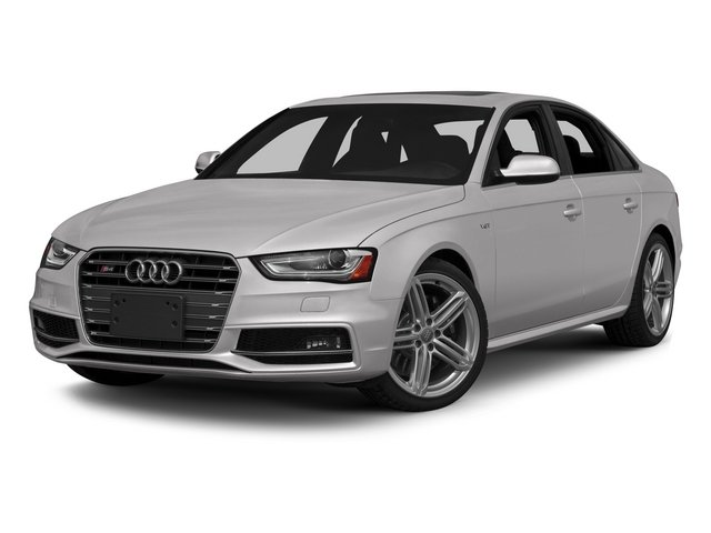 2015 Audi S4 Prices and Values Sedan 4D S4 Prestige AWD side front view