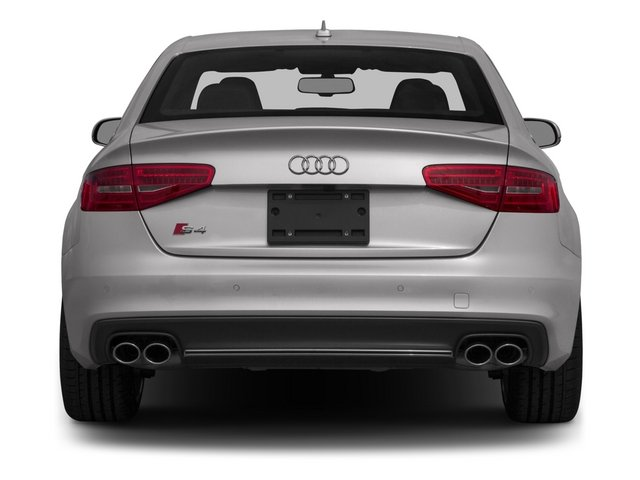 2015 Audi S4 Prices and Values Sedan 4D S4 Prestige AWD rear view