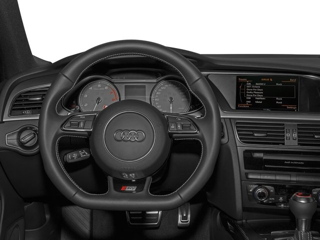 2015 Audi S4 Prices and Values Sedan 4D S4 Prestige AWD driver's dashboard