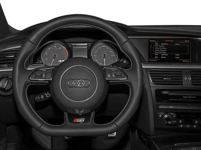 2015 Audi S5 Prices and Values Coupe 2D S5 Prestige AWD driver's dashboard