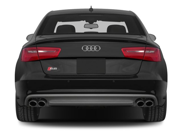 2015 Audi S6 Prices and Values Sedan 4D S6 Prestige AWD rear view
