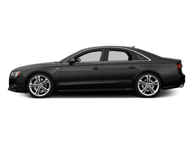 2015 Audi S8 Prices and Values Sedan 4D S8 AWD V8 Turbo side view