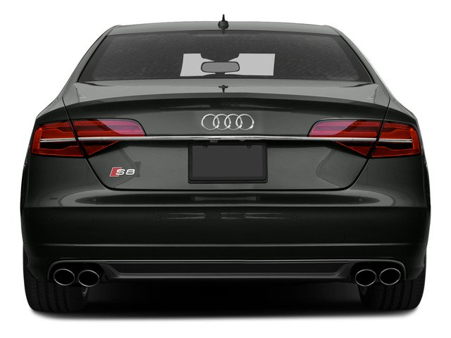 2015 Audi S8 Prices and Values Sedan 4D S8 AWD V8 Turbo rear view