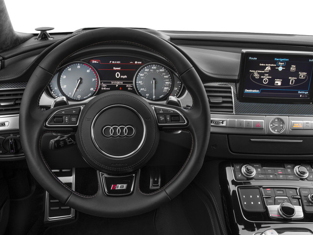 2015 Audi S8 Prices and Values Sedan 4D S8 AWD V8 Turbo driver's dashboard