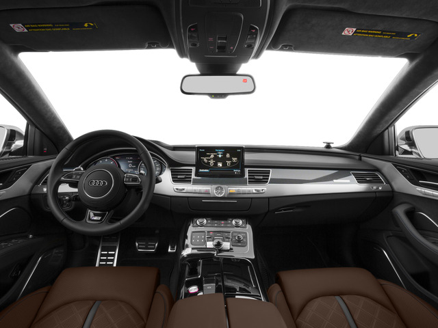 2015 Audi S8 Prices and Values Sedan 4D S8 AWD V8 Turbo full dashboard