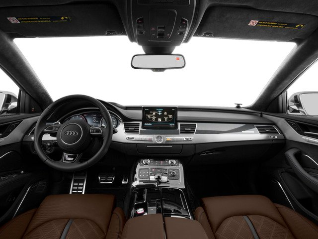 2015 Audi S8 Pictures S8 Sedan 4D S8 AWD V8 Turbo photos full dashboard