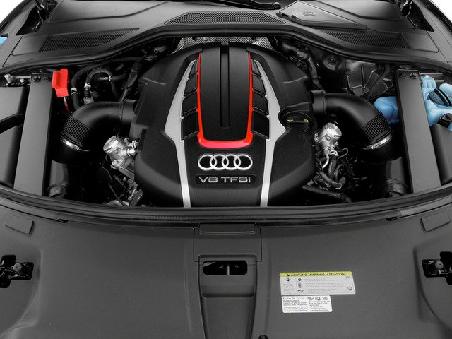 2015 Audi S8 Pictures S8 Sedan 4D S8 AWD V8 Turbo photos engine