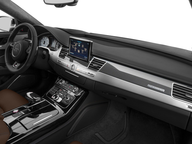2015 Audi S8 Prices and Values Sedan 4D S8 AWD V8 Turbo passenger's dashboard