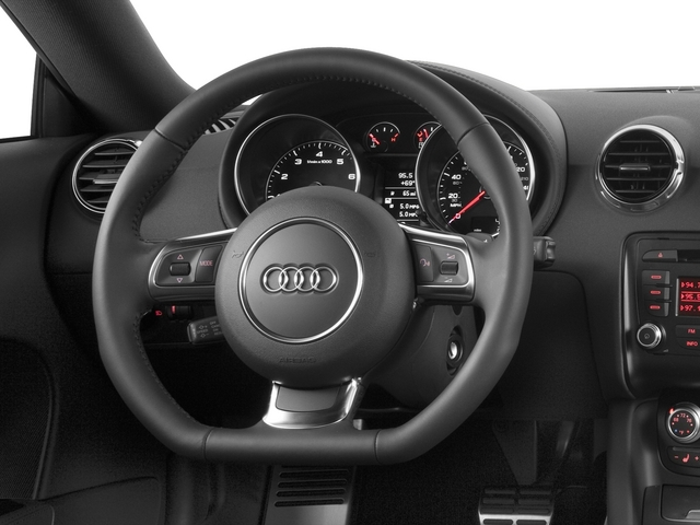 2015 Audi TT Pictures TT Coupe 2D AWD photos driver's dashboard
