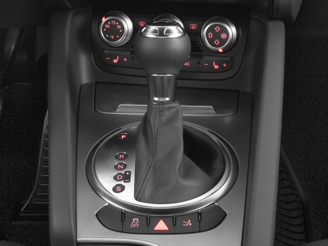 2015 Audi TT Prices and Values Coupe 2D AWD center console