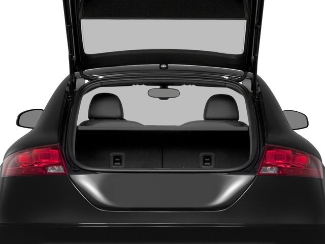 2015 Audi TT Prices and Values Coupe 2D AWD open trunk