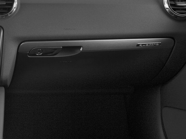 2015 Audi TT Prices and Values Coupe 2D AWD glove box