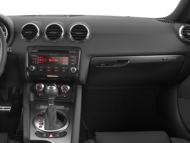 2015 Audi TT Prices and Values Coupe 2D AWD passenger's dashboard