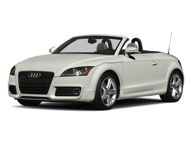 2015 Audi TT Pictures TT Roadster 2D AWD photos side front view