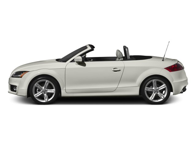 2015 Audi TT Pictures TT Roadster 2D AWD photos side view