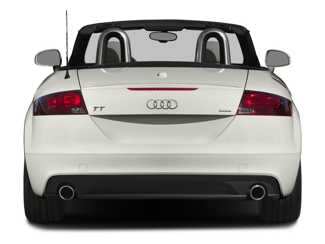 2015 Audi TT Prices and Values Roadster 2D AWD rear view