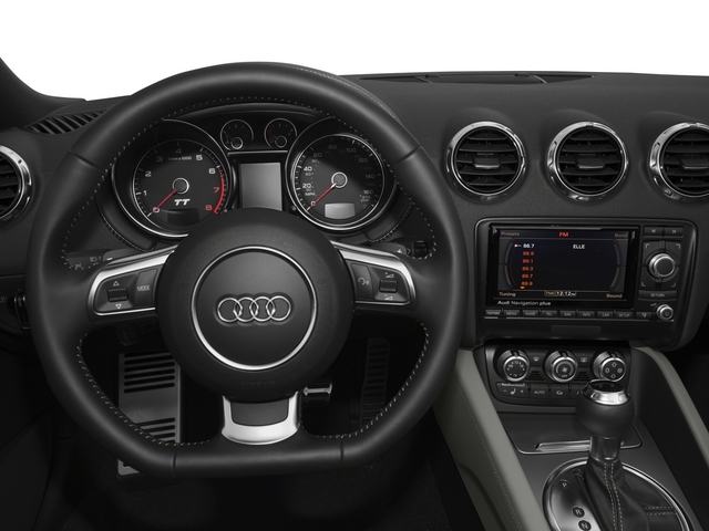 2015 Audi TT Prices and Values Roadster 2D AWD driver's dashboard