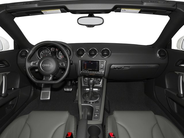 2015 Audi TT Prices and Values Roadster 2D AWD full dashboard