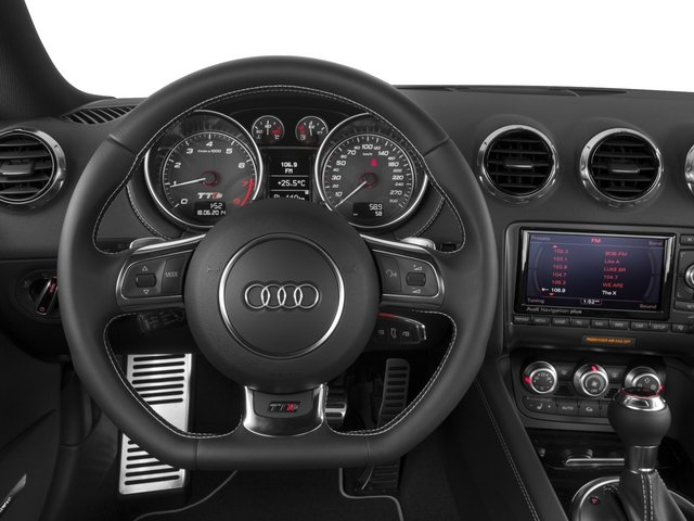2015 Audi TTS Prices and Values Coupe 2D AWD driver's dashboard