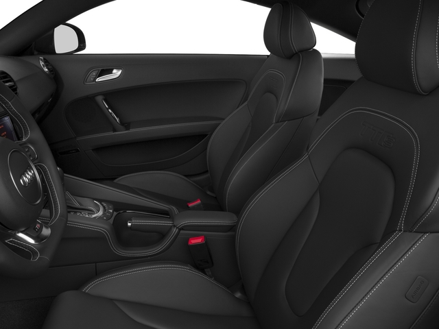 2015 Audi TTS Prices and Values Coupe 2D AWD front seat interior