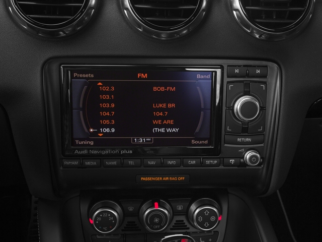 2015 Audi TTS Prices and Values Coupe 2D AWD stereo system