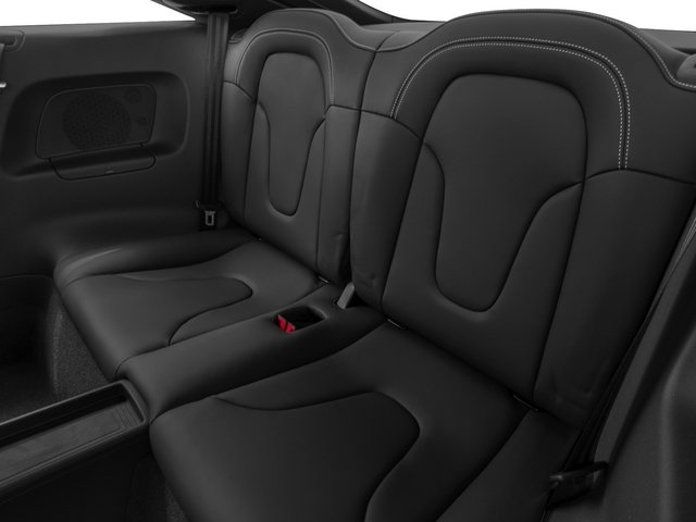2015 Audi TTS Prices and Values Coupe 2D AWD backseat interior