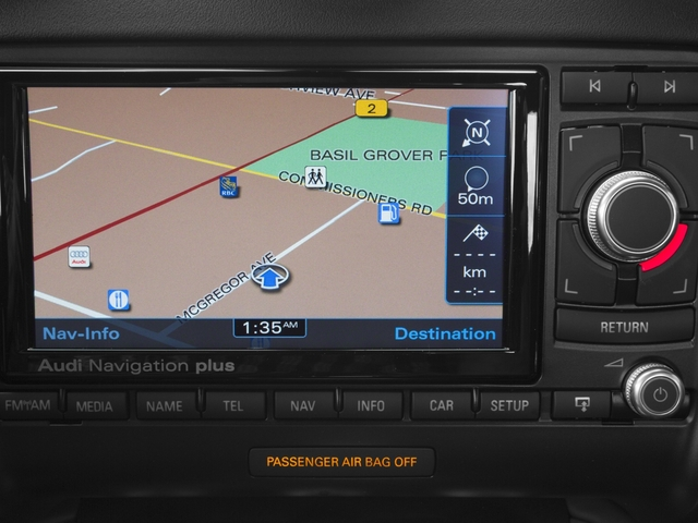 2015 Audi TTS Prices and Values Coupe 2D AWD navigation system