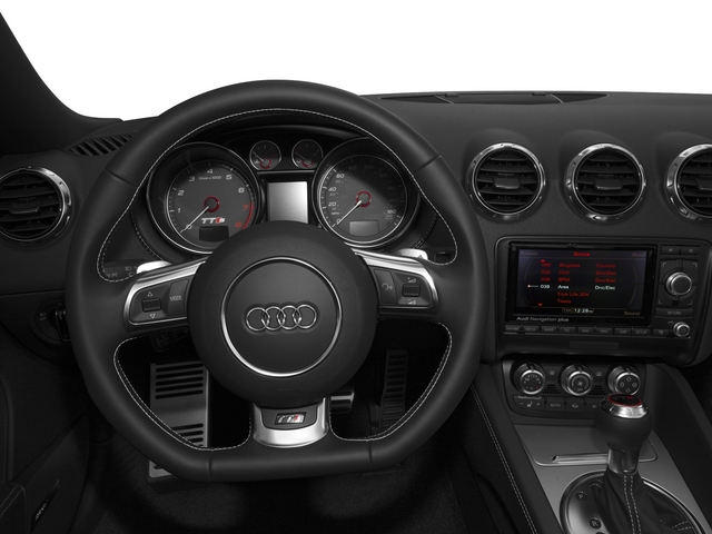 2015 Audi TTS Pictures TTS Roadster 2D AWD photos driver's dashboard
