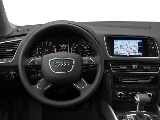 2015 Audi Q5 Prices and Values Utility 4D 2.0T Premium AWD driver's dashboard