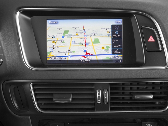 2015 Audi Q5 Prices and Values Utility 4D 2.0T Prestige AWD Hybrid navigation system