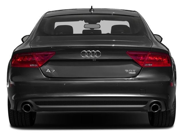 2015 Audi A7 Prices and Values Sedan 4D TDI Premium Plus AWD rear view