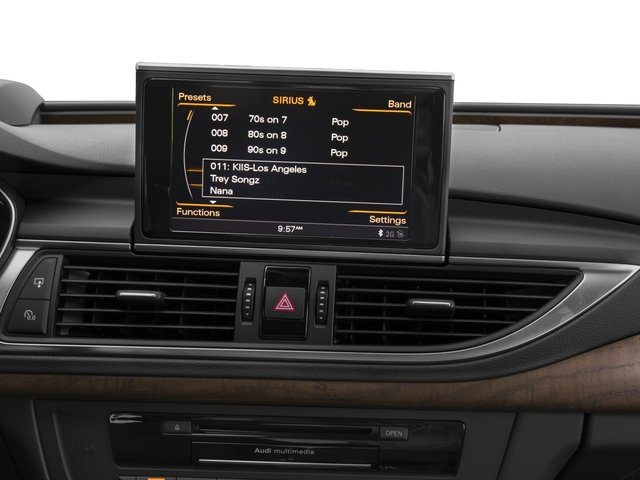 2015 Audi A7 Prices and Values Sedan 4D TDI Prestige AWD T-Diesel stereo system