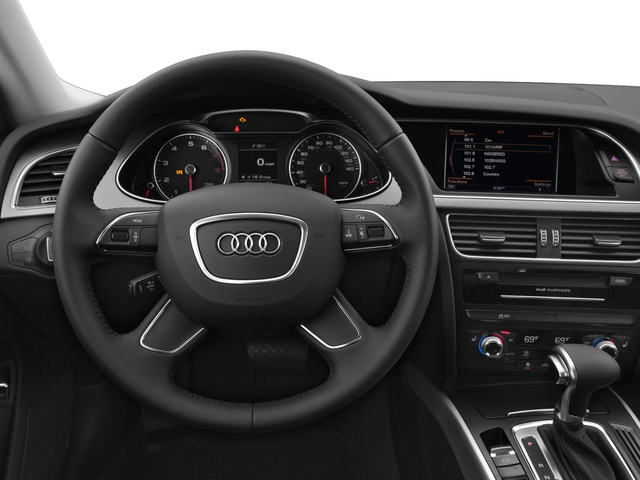 2015 Audi allroad Prices and Values Wagon 4D Prestige AWD I4 Turbo driver's dashboard