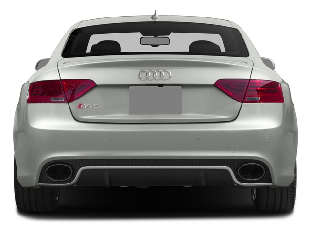 2015 Audi RS 5 Prices and Values Coupe 2D RS5 AWD V8 rear view