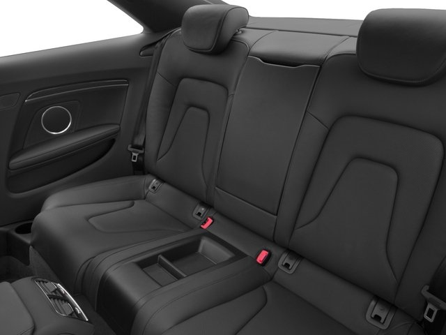 2015 Audi RS 5 Prices and Values Coupe 2D RS5 AWD V8 backseat interior