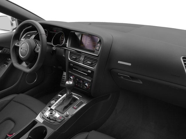 2015 Audi RS 5 Prices and Values Coupe 2D RS5 AWD V8 passenger's dashboard