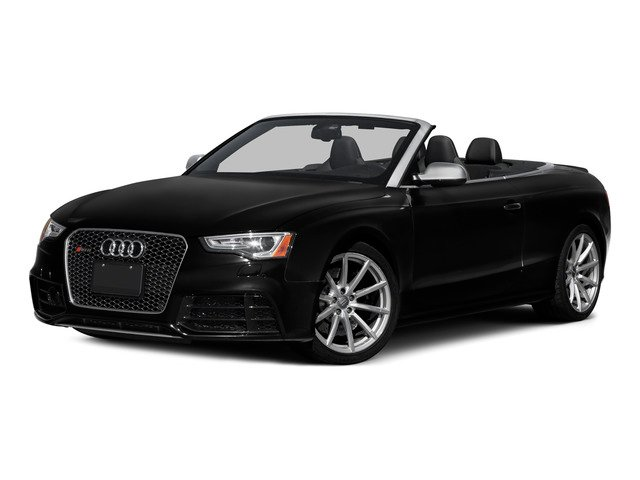 2015 Audi RS 5 Prices and Values Convertible 2D RS5 AWD V8 side front view