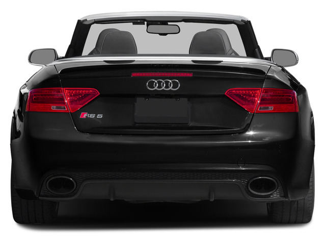 2015 Audi RS 5 Prices and Values Convertible 2D RS5 AWD V8 rear view