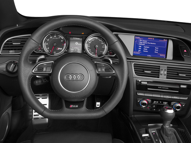 2015 Audi RS 5 Prices and Values Convertible 2D RS5 AWD V8 driver's dashboard