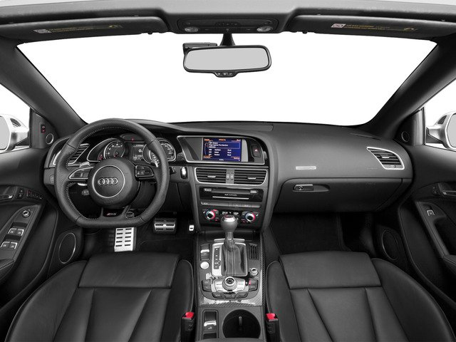 2015 Audi RS 5 Prices and Values Convertible 2D RS5 AWD V8 full dashboard