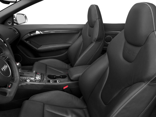 2015 Audi RS 5 Prices and Values Convertible 2D RS5 AWD V8 front seat interior