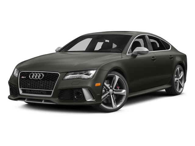 2015 Audi RS 7 Pictures RS 7 Sedan 4D Prestige AWD photos side front view