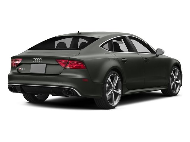 2015 Audi RS 7 Pictures RS 7 Sedan 4D Prestige AWD photos side rear view