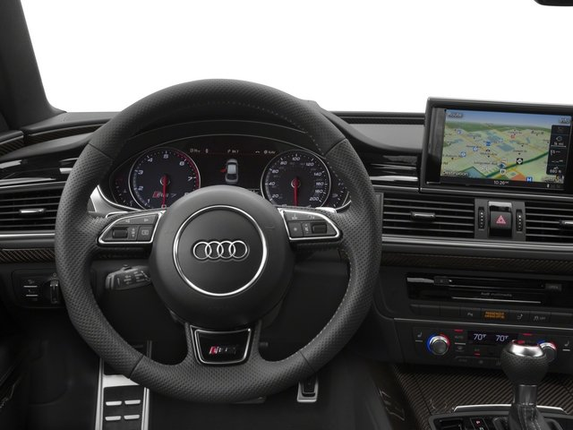 2015 Audi RS 7 Prices and Values Sedan 4D Prestige AWD driver's dashboard