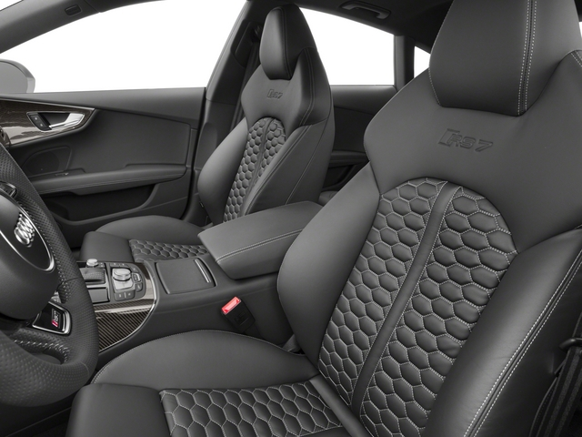 2015 Audi RS 7 Prices and Values Sedan 4D Prestige AWD front seat interior