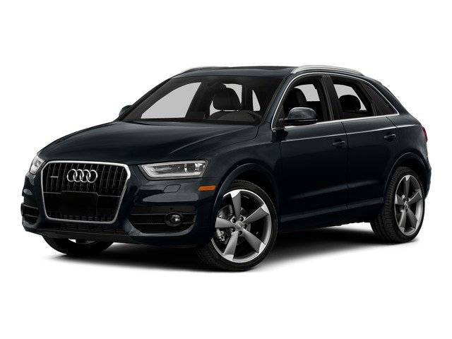2015 Audi Q3 Prices and Values Utility 4D 2.0T Prestige 2WD side front view