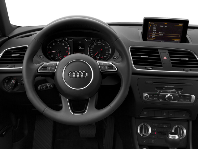 2015 Audi Q3 Prices and Values Utility 4D 2.0T Prestige 2WD driver's dashboard